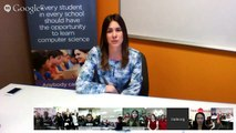 Hour of Code Video Chat with Clara Shih