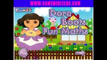 Dora Cool Math Games - Dora Boots Fun Maths - Online Dora Games