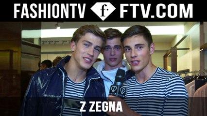Z Zegna Backstage Spring/Summer 2016 | Milan Collections: Men | FashionTV