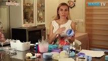 Evde iki renkli sabun nasıl yapılır?