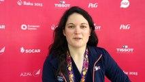 Magalie Pottier - Médaille d'argent BMX