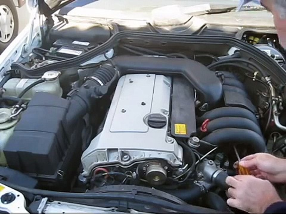 1994 mercedes e320 engine wiring harness replacement (w124 chassis, m104  engine) - video dailymotion  dailymotion