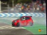 Renault Sport Clio RS '11 Gare da 5 minuti Gara 3 Circuito di Roma