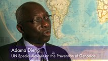 Interview with Special Adviser on the Prevention of Genocide, Adama Dieng
