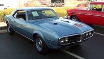 Test Driving 1968 Pontiac Firebird 400 V8 and Full Walkaround