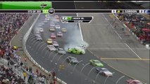 2009 NASCAR Kyle Busch causes big wreck at New Hampshire Motor Speedway