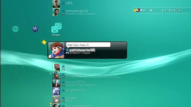 PSN Friends List