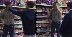 Un voleur se fait attraper la main dans le sac et se fait gifler - Vidéo insolite