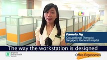 Office Ergonomics by Singapore General Hospital