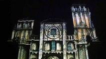 Luces En La Catedral De Santiago De Compostela. 800 aniversario.