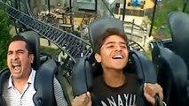 Roller Coaster Ride Compilation Fail ✔ JANXEN - ROLLERCOASTERIX Funny Roller Coaster Reactions BEST