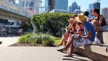 Brisbane City YHA backpackers hostel (Queensland, Australia)