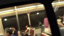Washington Metro: Yellow Line train from Gallery Place-Chinatown to L'Enfant Plaza