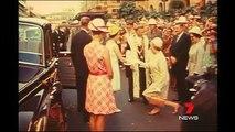 Royal Yacht Britannia Sails into Brisbane in 1970 - Seven News Flashback