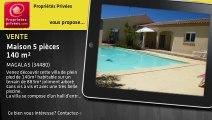 A vendre - maison - MAGALAS (34480) - 5 pièces - 140m²