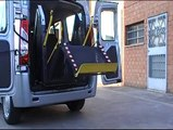 Wheelchair lift platform for Cars Campers Motorhome to lift disabled people. Fiat Scudo