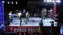 Kaz Hayashi, Shuji Kondo & Minoru Tanaka vs. Seiki Yoshioka, Yasufumi Nakanoue & Jay Freddie (WRESTLE-1)