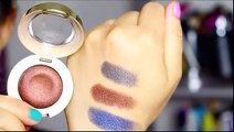 Milani Bella Eyes Gel Eyeshadows Swatches & Nail Lacquers