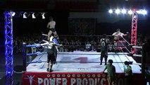 Hiroki Murase & Shotaro Ashino vs. NOSAWA Rongai & MAZADA (WRESTLE-1)