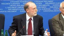 Press conference: Back from Gaza with Francis Wurtz, GUE/NGL president and Josep Borell, PSE