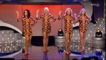 Showgirls: Jeg går i ett med tapeten