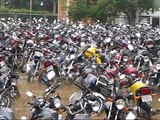 Motos presa Patio Detran Sp