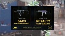 SAC 1.5 & ROYALTY VARIANTS! HOW TO USE SINGLE SAC 3 EARLY! - Advanced Warfare New Royalty Variants