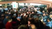 Dr. Tahir-ul-Qadri's arrival at Lahore -Dr. Tahir-ul-Qadri's reception at Lahore Airport.