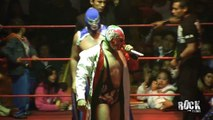 Arena Neza. Blue Demon Jr y Dr. Wagner Jr. Vs Solitario Jr. y Rayo de Jalisco Jr. 3