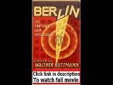 Berlin  Die Sinfonie der Grosstadt (1927)