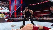Watch the stunning turn of events that took place just moments after Daniel Bryan overcame Dean Ambr