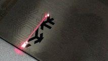 stainless steel color fiber laser marking, stainless steel color fiber engraving, fiber laser marking engraving supplier