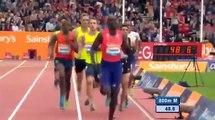 David Rudisha 1:43.34 Men's 800m  IAAF Diamond League Glasgow 2014