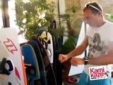 Radu Mazăre locuiește într-un magazin gen Auto-Moto-Velo-Sport