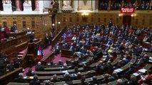 Le discours du président tunisien Béji Caïd Essebsi devant le Sénat