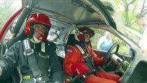 Jean Fabien Blanc Guillaume Sorba Mistubishi EVO 6 vainqnueur de la 42e Ronde de la Durance