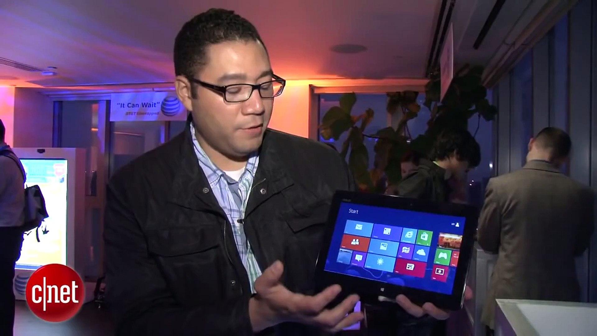 Asus' super-sleek Windows 8 tablet - First Look