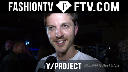 Y/ProjectTrends Spring/Summer 2015| Paris Men's Fashion Week  | FashionTV