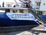 The Rachel Corrie is on her way to Gaza, Freedom Flotilla, June 4,2010