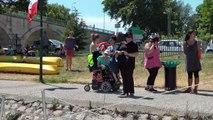1000 pagaies 2015 Un bateau pour Chantal