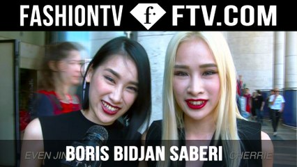 Boris Bidjan Saberi Arrivals Spring/Summer 2015 | Paris Men's Fashion Week | FashionTV