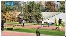 Le parcours d'obstacles ahurissant des soldats chiliens