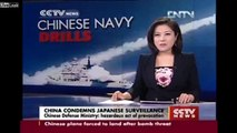 Provocation from Japan by Surviliance China warns Japan not to enter Chinese military drill zone