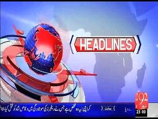 Headline 27-06-2015-2300 - 92 News HD