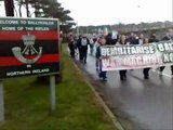 Brits Out Protest - Ballykinler