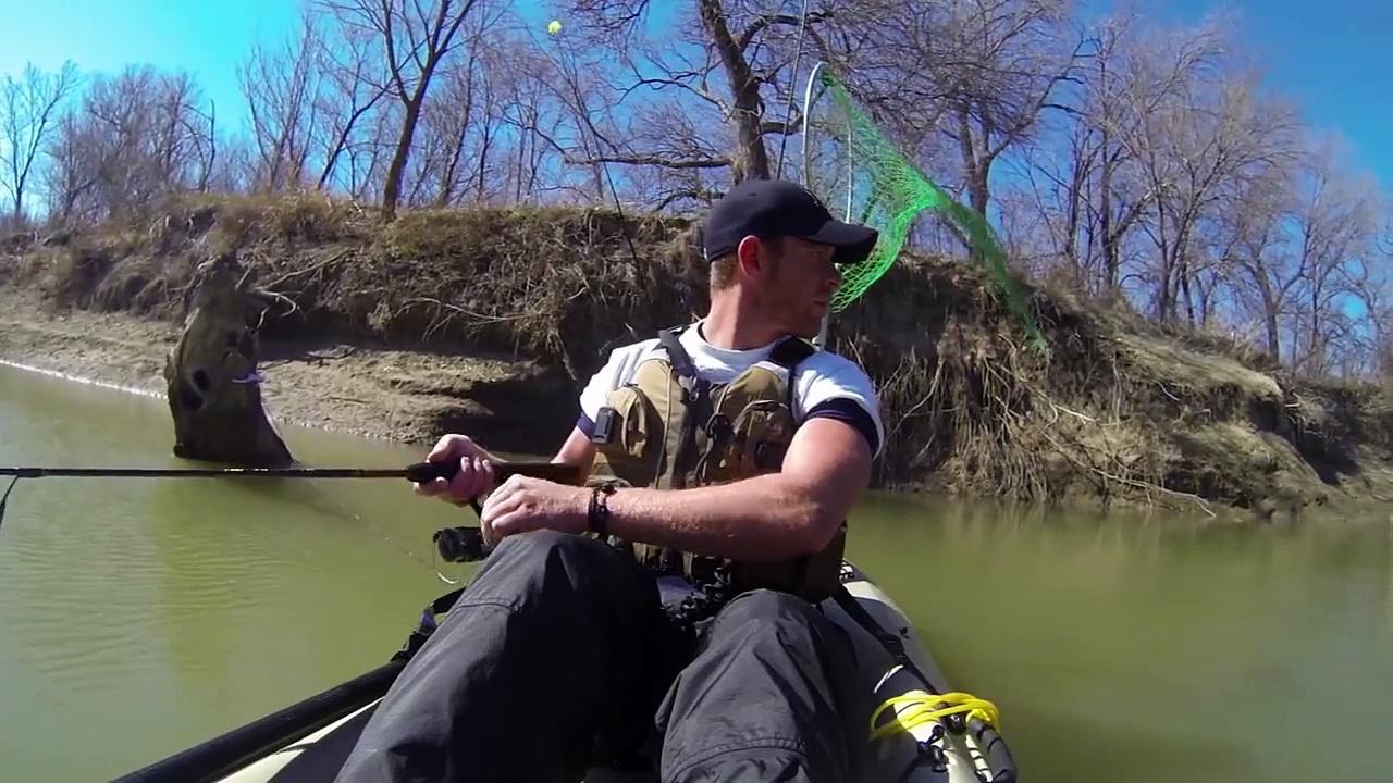 Kayak Fishing: The White Bass Run