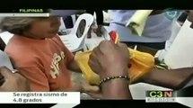Registran sismo en Filipinas / Sismo sacude a Filipinas