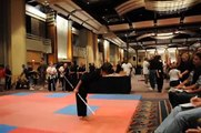 Awesome 13 year-old girl @ Battle of Atlanta 2009 Dayna Huor extreme martial arts weapons