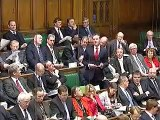 Pete Wishart goes beserk with anti british football statement s in the Houses of Parliament.