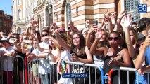 Concert de BigFlo et Oli place du Capitole à Toulouse